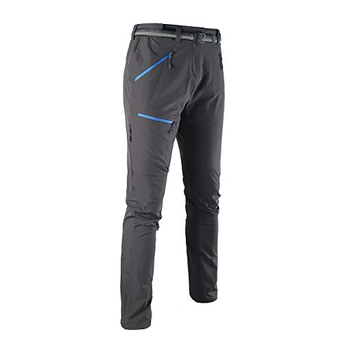Montbreaker Women's Outdoor Trail Lightweight Hiking Pants Zip Vent Quick Dry Travel Pants Hem Drawstring