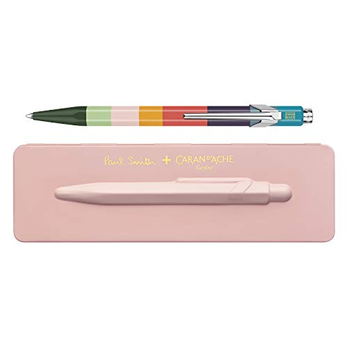 Caran d'Ache Paul Smith 3rd Edition 849 Ballpoint Pen - Rose Pink