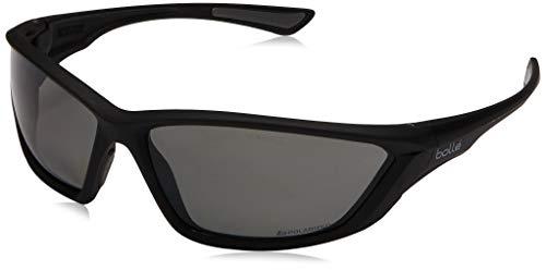 Bolle Assaf Black de Swat Lunettes Shiny Polarized soleil rawrxgqA