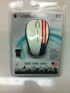 Logitech M317 USA Flag Mouse
