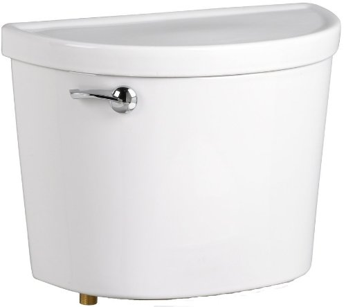 American Standard 4225A105.020 Champion PRO Right-Hand Trip Lever 1.28-Gallons Per Flush Toilet Tank, White by American Standard