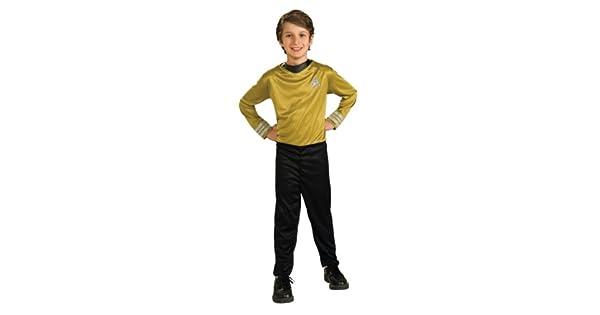Amazon.com: star trek Capitán Kirk acción traje de disfraz ...
