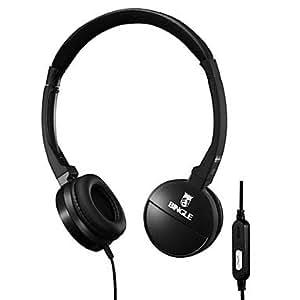 Procesamiento de dos días -Bingle auriculares estéreo con micrófono para teléfonos móviles de PC,White