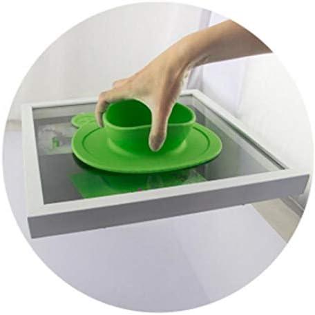 Hpybest Assiette 100/% silicone avec ventouse pour b/éb/é