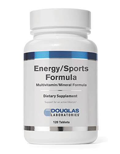 Douglas Laboratories - Energy/Sports Formula - Multivitamin/Mineral Formula to Support Energy Metabolism* - 120 Tablets