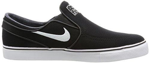 Slip De Skateboarding Para white Janoski Black Zoom Stefan black Zapatillas Hombre Nike Cnvs 0YOtSw