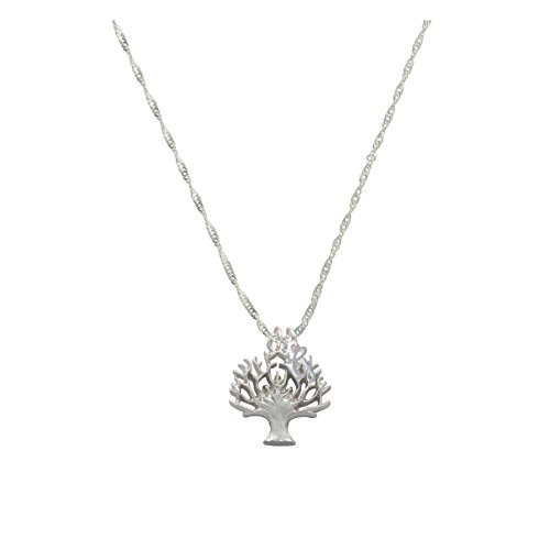 Tree of Life Mini Gelato Initial - G - Grace Necklace