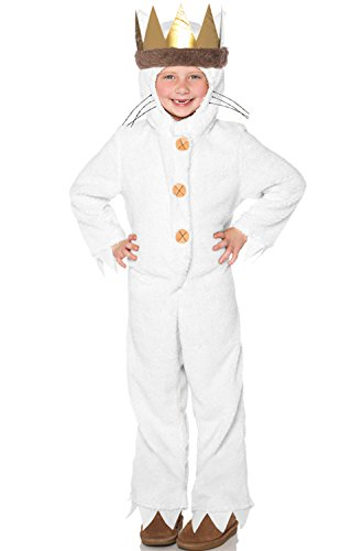 Wild Things Are Max Costume (Big Boys' Max Costume Small (5-6))