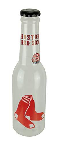 Boston 21 Bottle - Maurice Sporting Goods MLB Boston Red Sox Jumbo Bottle Coin Bank 21 inch Tall
