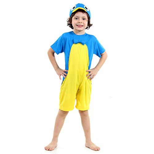 Backyardigans Pablo Infantil Sulamericana Fantasias Azul/Amarelo 6 Anos