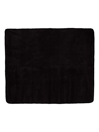 Liberty Bags Fleece Throw Blanket, Black