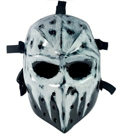 Airsoft Hockey mask,Heat mask,Goalie mask,Goalie masks,Goaltender masks,Airsoft face mask,Paintball masks,Paint ball mask,Army of two airsoft mask,Masks paintball,mask bb (Hockey Mask Halloween Costume)