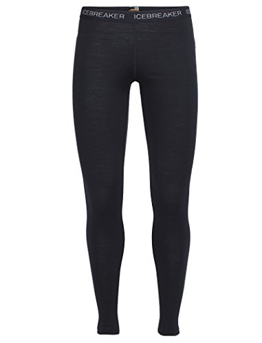 Icebreaker Women's Oasis Leggings, Black, X-Large