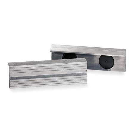 Magnetic Jaw Cap, 5 In, Alum, PK2 (Jaw Cap Magnetic)