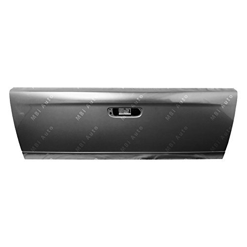 Tailgate Skin - Painted Tailgates ch1900121P-PDM Dodge Ram Truck Tailgate Painted Mineral Gray Metallic