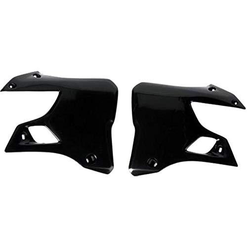 (Ufo Plastic Radiator Cover Black for Suzuki RM 125 250 93-95)