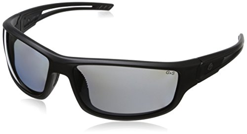 Gargoyles Men's Squall 10700111.QTM Polarized Wrap Sunglasses,Matte Black,68 - Sunglasses Gargoyle Polarized