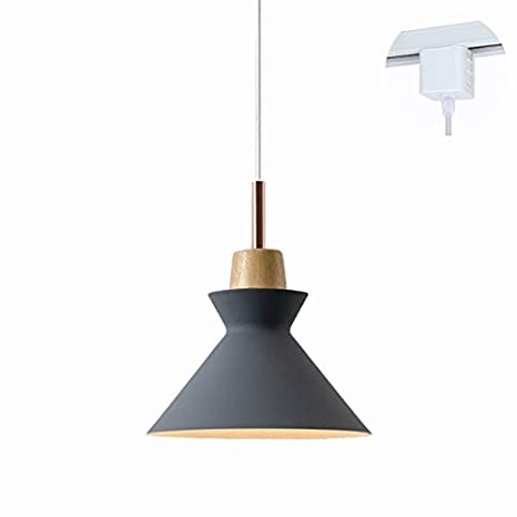 new arrival 2f49f e90f2 ANYE H-Type Track Light Pendants 3.2 ft Cord Dark Grey Lamp ...