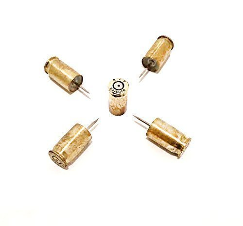 Magnum Turkey (Brass 380 Bullet Gun Ammo Thumbtacks Push Pins Home Kitchen and Office Supplies Gift for Him Her)