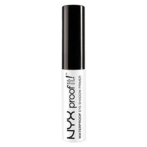 NYX PROFESSIONAL MAKEUP Proof It! Waterproof Eyeshadow Primer, 0.23 Ounce (Best Eyeshadow Primer For Dark Skin)