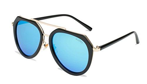 ULLERES Unisex Aviator UV Protection Polarized Sunglasses (Black, - Expensive Most Sunglasses 2017