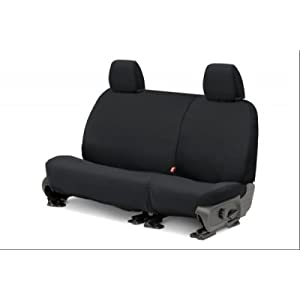 Covercraft SS7432PCCH SeatSaver Second Row Custom Fit Seat Cover for Select Ram 1500 Models - Polycotton (Charcoal)