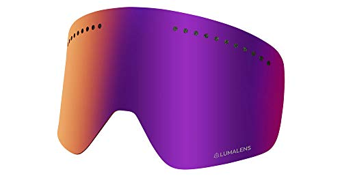 Dragon Nfxs Replacement Lens Snow Goggle Lense One Size Lumalens Purple Ion ()