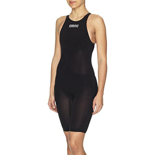 Arena Women's Powerskin R-Evo Fbsl Race Powerskin R-Evo Full Body Short Leg Suit,Black,28