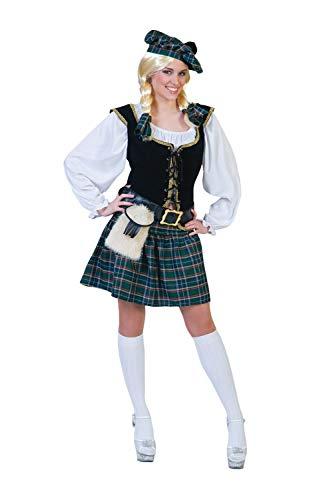 Funny Fashion Scottish Lass Adult Costume