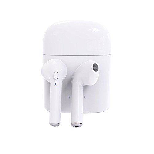 SAYGOGO CMBB003 Wireless Earbuds Stereo Earphones,Cordless Sport Headsets with Mic,Bluetooth Headphones with Charging Case for Iphone 8 X,7 Plus,6