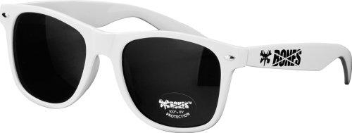 Bones Wheels Rat Sunglasses, White - Rat Bones