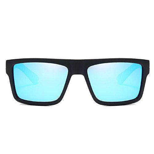 Bleu UV400 Homme Sport Polarisées JULI de Mode Lunettes Classique soleil Femme D918 PSpAwSqx6