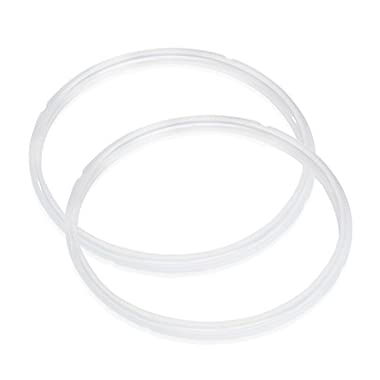 Instant Pot Sealing Ring - Silicone (Pack of 2) - BPA Free, Fits IP-DUO60, IP-LUX60, IP-DUO50, IP-LUX50, Smart-60, IP-CSG60 and IP-CSG50