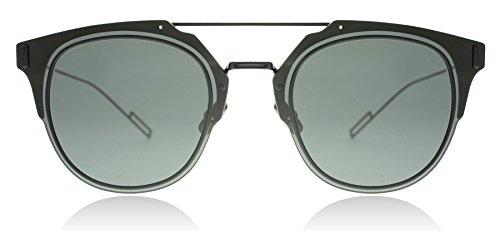Dior Homme Composit 1.0 006 Black Composit Round Sunglasses Lens Category 3 Siz