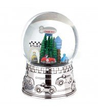 Music and Water Globe by Reed & Barton (Race Car ()