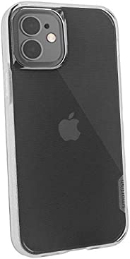 Smartish iPhone 12/12 Pro Slim Case - Kung Fu Grip [Lightweight + Protective] Thin Cover (Silk) - Nothin'