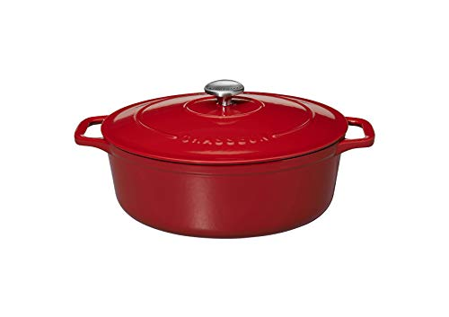 Chasseur Cast Iron, Casserole 6.0 L Rot Oval
