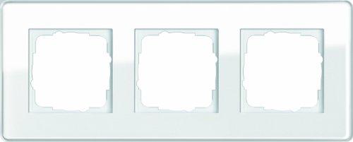 Gira 0213512 Esprit - Verre C Cadre de finition, Blanc