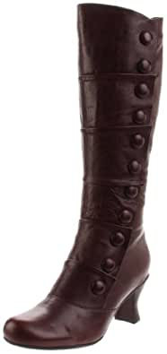 Miz Mooz Women's Amelia Riding Boot, Brown, 10 M US