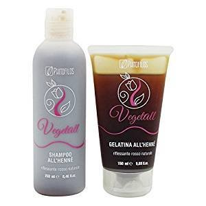 Yumibio Gift Set Phitofilos Vegetall Henna Shampoo 250 Ml Gel