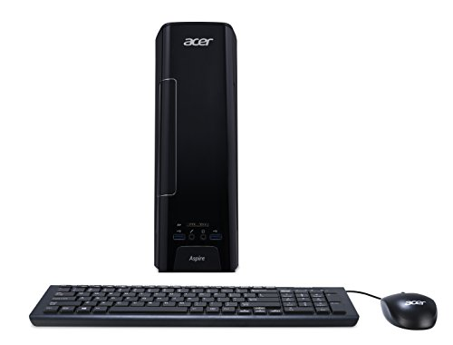Acer Aspire Desktop, Intel Core i3-6100, 4GB DDR4, 1TB HDD, Windows 10 Home, AXC-780-UR11