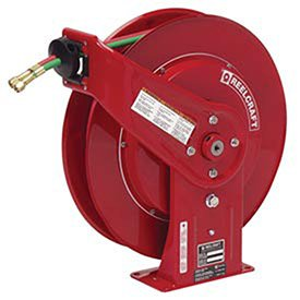 Reelcraft TW7460 OLP Spring Retractable Gas Welding Hose Reel, 1/4