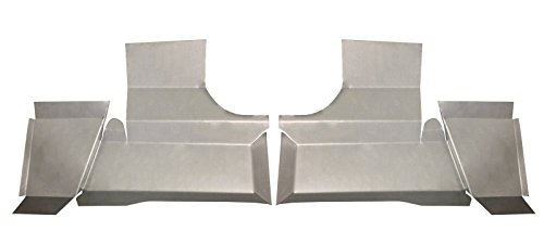 - Motor City Sheet Metal - Works With 1961 1962 1963 1964 CADILLAC UNDER THE REAR SEAT FLOOR PANS NEW PAIR!