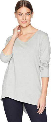 Fresh Produce Emily Long Sleeve Top Slate Grey LG