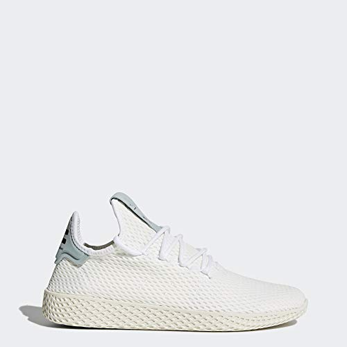 adidas Originals Men's Pharrell Williams Human Race White/White/Green 4 D US D (M) by adidas Originals (Image #1)