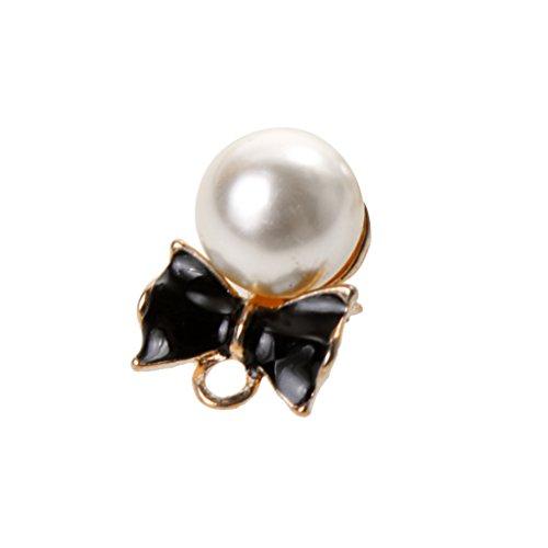 MonkeyJack 20Pcs DIY Jewelry Coat Shape Pearl Knot Lady Accessory Findings Home Gifts by MonkeyJack (Image #7)