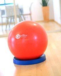 Sissel Gym Ball Base Stand 45 cm Blue