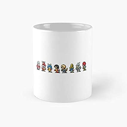 Amazon.com | FF IX Character Mug: Coffee Cups & Mugs