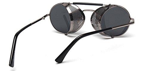 de Lente estilo protección gafas Premium de sol con espejo de Lentes completo xwTgqx