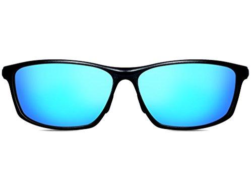 Mg Metal Polarizado Marco Súper Hombre Al Azul Uv400 Ligero ATTCL De Sol Deportes De Gafas qnvZWwFO1